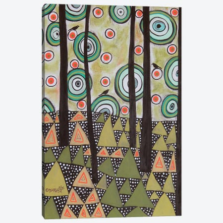 Triangle Landscape Canvas Print #KAG351} by Karla Gerard Art Print