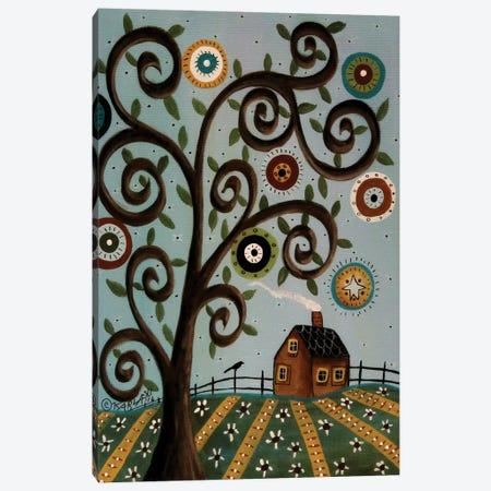 Tuesday I Canvas Print #KAG352} by Karla Gerard Art Print