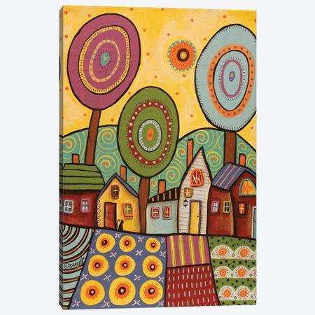 Village Gardens Canvas Print #KAG359} by Karla Gerard Canvas Print