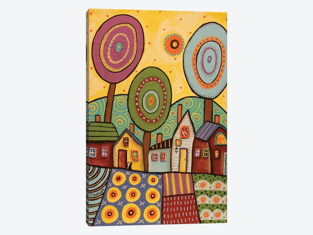 Village Gardens by Karla Gerard 1-piece Canvas Artwork