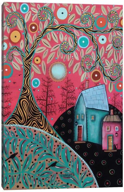 Warm Sky I Canvas Art Print