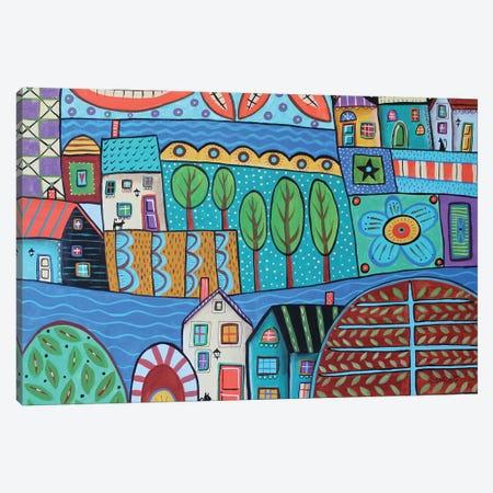 Waterways Canvas Print #KAG369} by Karla Gerard Canvas Wall Art