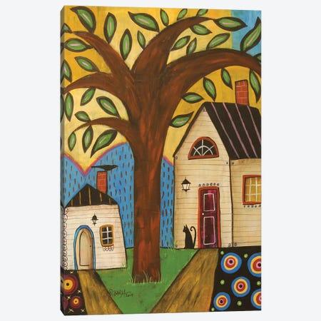 Welcome Spring Canvas Print #KAG372} by Karla Gerard Canvas Art Print