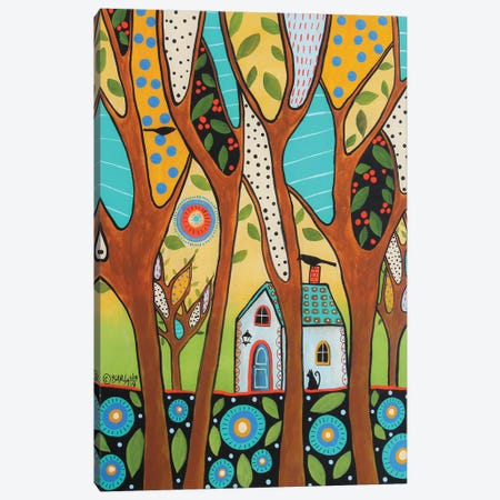 Whispering Trees Canvas Print #KAG375} by Karla Gerard Canvas Art