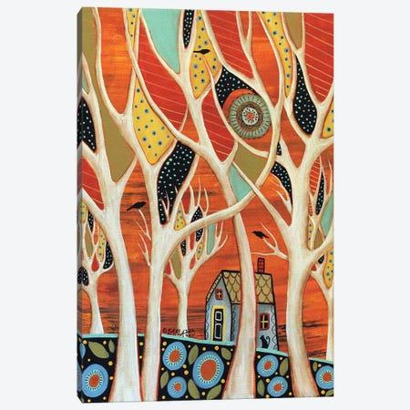 White Trees I Canvas Print #KAG379} by Karla Gerard Canvas Art Print