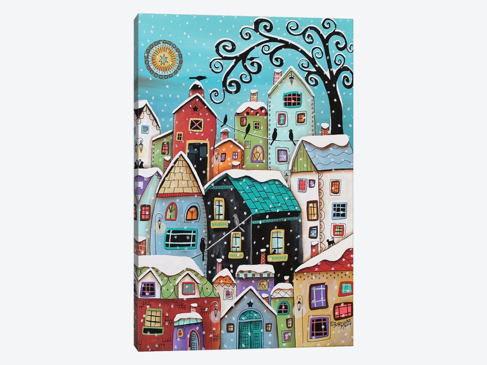 Winter City by Karla Gerard 1-piece Canvas Artwork