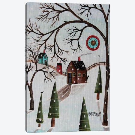 Winter Day I Canvas Print #KAG383} by Karla Gerard Canvas Artwork