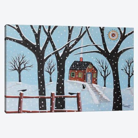 Winter Sight Canvas Print #KAG389} by Karla Gerard Canvas Art