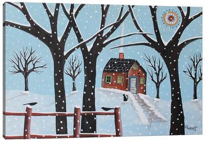 Winter Sight Canvas Art Print