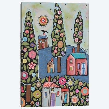 Blue Hill Canvas Print #KAG44} by Karla Gerard Canvas Art Print
