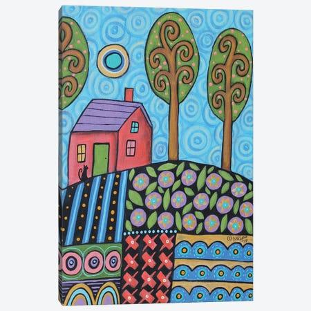 Blue Skies Canvas Print #KAG47} by Karla Gerard Art Print