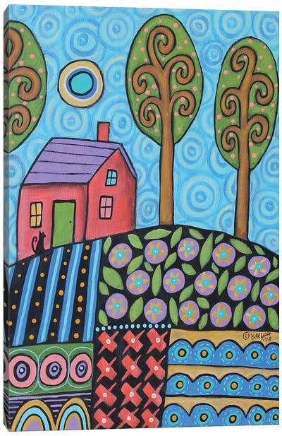 Blue Skies Canvas Art Print