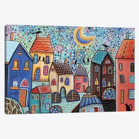 Confetti Sky Canvas Print #KAG76} by Karla Gerard Canvas Art