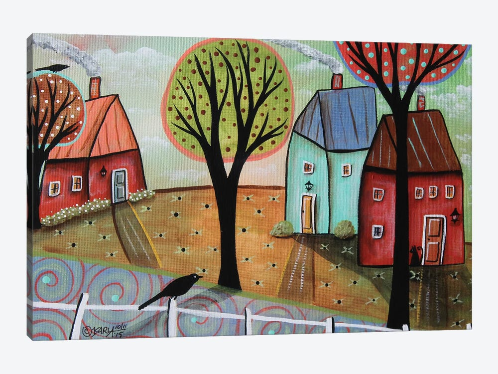 Cool Day I by Karla Gerard 1-piece Canvas Art Print