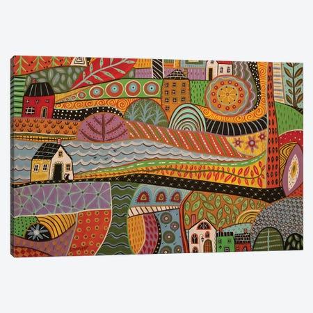 Crossroads Canvas Print #KAG88} by Karla Gerard Canvas Art