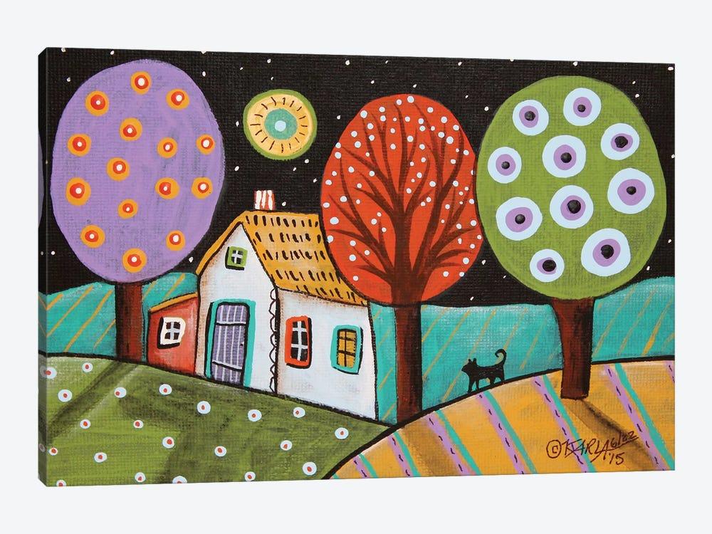 Darkness by Karla Gerard 1-piece Canvas Artwork