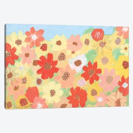Sunflower Manifesto Canvas Print #KAI100} by Kait Roberts Art Print