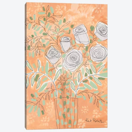 This is How You Bloom Canvas Print #KAI104} by Kait Roberts Canvas Wall Art