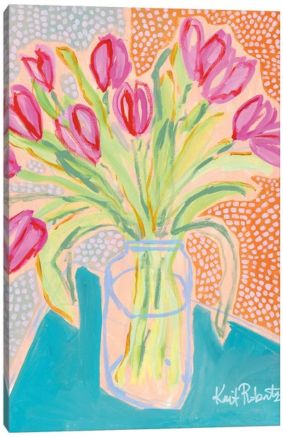 Tulips for Corie Canvas Art Print