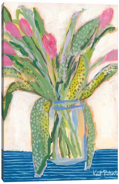 Tulips for Maxine I Canvas Art Print