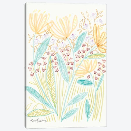 Watch It Bloom Canvas Print #KAI113} by Kait Roberts Canvas Wall Art