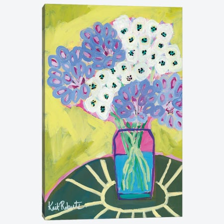 Cecily's Table Canvas Print #KAI118} by Kait Roberts Canvas Artwork
