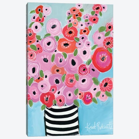Dreaming of Poppies Canvas Print #KAI119} by Kait Roberts Canvas Wall Art