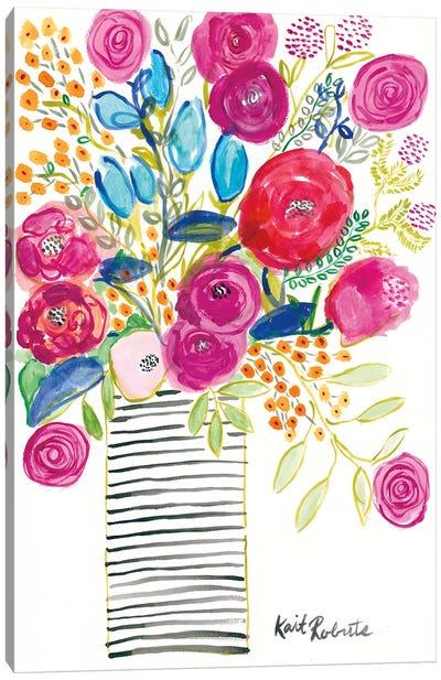 Blissful Blooms Canvas Art Print