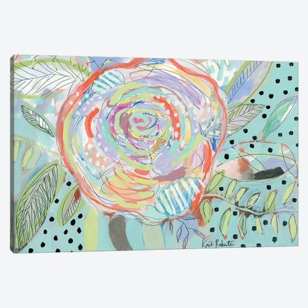 Bloom for Yourself Canvas Print #KAI12} by Kait Roberts Canvas Art Print