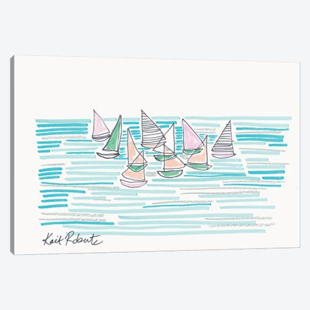 Noon at Sea Canvas Print #KAI141} by Kait Roberts Art Print