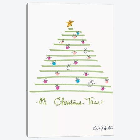 Oh Christmas Tree Canvas Print #KAI142} by Kait Roberts Canvas Print