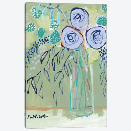 The Flower Lady   Canvas Print #KAI148} by Kait Roberts Art Print