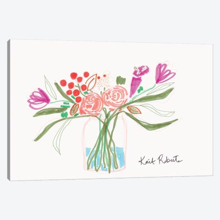 Bouquet for Carle Canvas Print #KAI155} by Kait Roberts Canvas Print