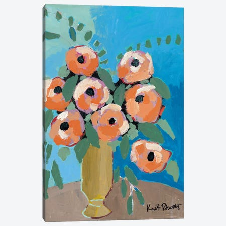 Bouquet for Granny Canvas Print #KAI156} by Kait Roberts Canvas Print