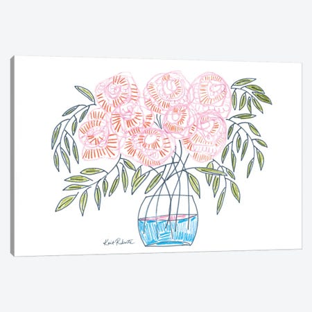 Flowers for Emma    Canvas Print #KAI160} by Kait Roberts Art Print