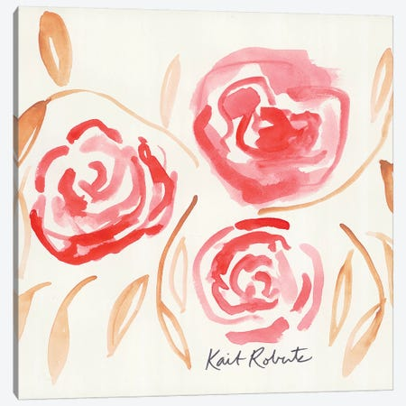 Lovey Dovey Canvas Print #KAI165} by Kait Roberts Canvas Wall Art