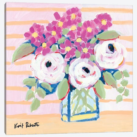 Market Bouquet Canvas Print #KAI166} by Kait Roberts Canvas Art