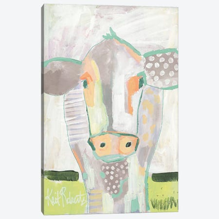 Moo Series: Laverne  Canvas Print #KAI169} by Kait Roberts Canvas Print