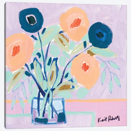 Ode to Simplicity Canvas Print #KAI170} by Kait Roberts Canvas Artwork