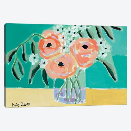 True Love Canvas Print #KAI177} by Kait Roberts Art Print