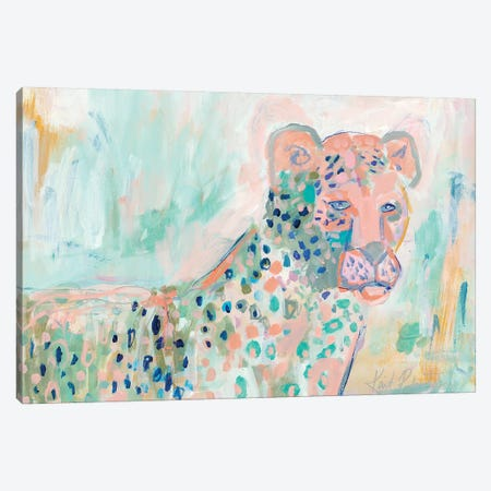 Cheetah Watch Canvas Print #KAI17} by Kait Roberts Canvas Artwork