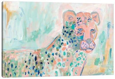 Cheetah Watch Canvas Art Print