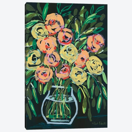 Blooming At Night Canvas Print #KAI198} by Kait Roberts Canvas Art