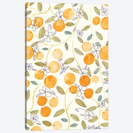 Clementine Canvas Print #KAI19} by Kait Roberts Canvas Art Print