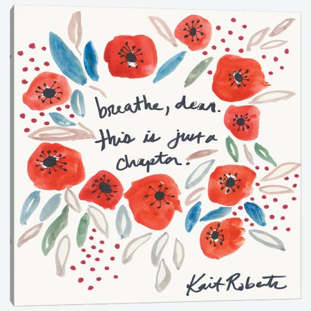 Seasons of Our Lives 3-Piece Canvas #KAI211} by Kait Roberts Art Print