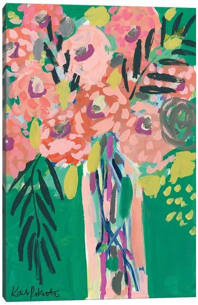 Still Life In Jade Canvas Art Print