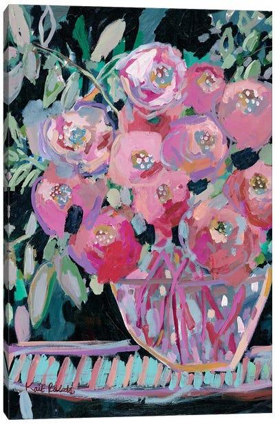 Entryway Bouquet Canvas Art Print