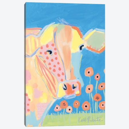 Kirby in the Field Canvas Print #KAI230} by Kait Roberts Canvas Print