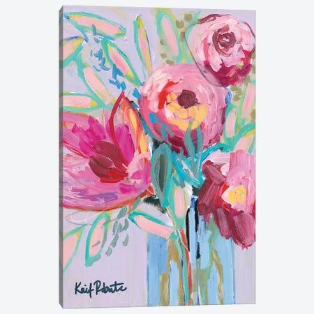 Summer Blooms Canvas Print #KAI235} by Kait Roberts Canvas Artwork