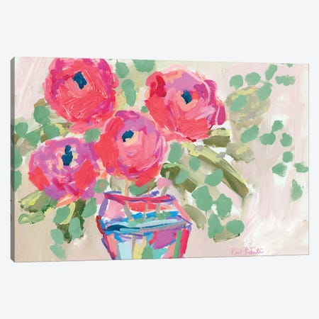 Blooms for Kimberly Canvas Print #KAI239} by Kait Roberts Canvas Art Print